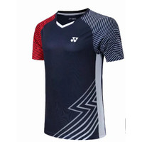 Pria/Wanita Yonex Kaos T-Shirt Badminton Lengan Pendek Warna Polos