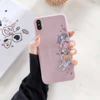 Cute Panda Cat Animal Popsocket Stand Silicone Case A57 A39 F1S F5