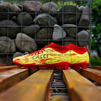 Sepatu Bola Calci Titan Z SC - Solar Red 210045 Original