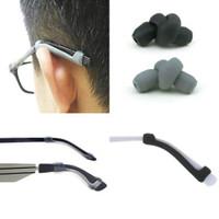Ear Hooks Kacamata Bahan Silikon Aksesoris Kacamata Penyangga anti