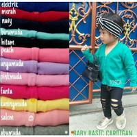 Baby Basic Cardigan   Baju Cardigan Rajut Anak