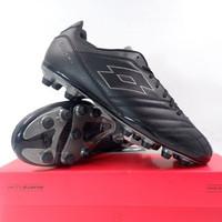 New Sepatu Bola Lotto Stadio 300 II FG All Black L57748-1H8 Origina