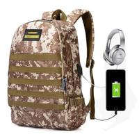 Barang Bagus ! PUBG Level 3 Army Series Tas Ransel Besar Laptop