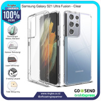 Ringke Samsung Galaxy S21 Ultra Fusion Clear Softcase Anti Crack