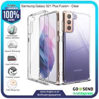 Ringke Samsung Galaxy S21 Plus Fusion Clear Softcase Anti Crack Hybrid