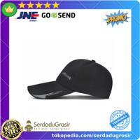 SportsC Topi Baseball Pria Outdoor Fashion Line Cap Long Visor - MZ87