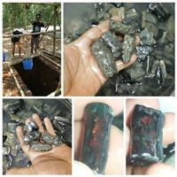 PROMO Bahan Black opal sempur ranting kecil (TERLARIS)