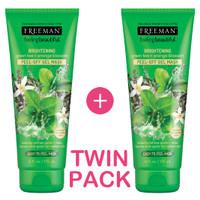 Twin Pack-Freeman Brightening Green Tea Peel-Off Gel Mask 2Pcs