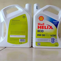 MF979 Oli Mesin Shell Helix Eco 0W-20 3 5 Liter