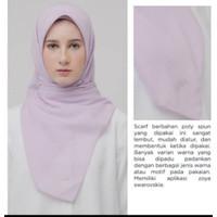 Zoya Casual Sparkling Swarovski - Kerudung Segiempat Polos - Hijab