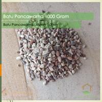 Batu Pancawarna 1000 Gram / Batu Aquaspace 1 Kg / Hiasan Aquarium