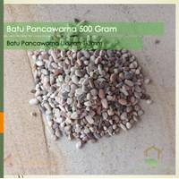 Batu Pancawarna 500 Gram / Batu Aquaspace 1/2 Kg / Hiasan Aquarium