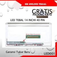 Layar LCD LED laptop Asus A43 A43D A43E A43SD A43T A43S