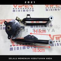 CVAS - Sayap - Arm - Kaki Depan SET CAKRAM Baut 3 ATV 110 125 - Buggy