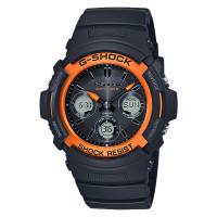 Casio G-Shock AWG-M100SF-1H4JR Multiband 6 Black Dial Black Resin Ban