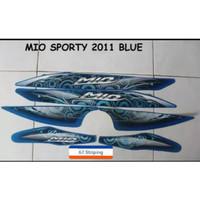 Striping Motor Yamaha Mio Sporty 2011 Biru best