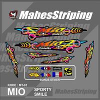 Stiker Striping Thailand Mio Smile Sporty Thailook MS-MT 01