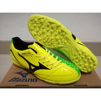 Dijual Sepatu Futsal Mizuno Wave Ignitus 4 Neon Yellow - TURF Limited