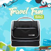 TAS TRAVELING TOILETTRY TRAVEL FUN SIMPLE BAG