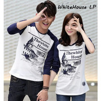 couple kaos murah baju caupel lengan panjang simple terbaru