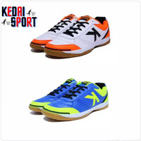 Unik Sepatu futsal kelme K-strong royal blue - white orange Murah