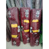 Surpet Kasur Karpet Motif Karakter LED Ukuran 140x170 cm Bahan Bulu Ha