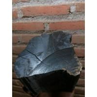 bahan mentah kayu langka galih kelor hitam asli tenggelam di air