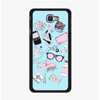 Casing Hardcase Samsung Galaxy J7 Prime Fill The Bag Girl P0284