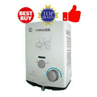 Wasser Water Heater Gas Low Pressure WH506A - LNG Gas Alam