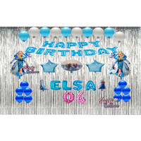 Paket Ulang Tahun Anak Tema Frozen | dekorasi Balon Ulang tahun Frozen