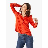 MARKS & SPENCER - Kemeja Wanita - Satin Flared Cuff Shirt