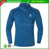 New Tfh Kaos T-Shirt Lengan Panjang Pria Quick Dry untuk Olahraga / `