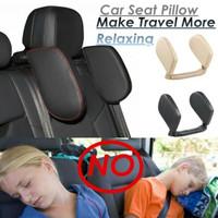 Headrest Neck Bantal Penyangga Kepala Leher Jok Mobil Travel Pillow
