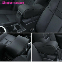 Universal Car Center Console Arm Rest Cover Seat Box Pad PU Leather