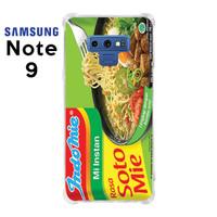 Casing Case Samsung Galaxy Note 9 Softcase Anticrack Motif Indomie5