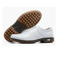 SPESIAL PROMO Genuine Leather Golf Boots Businessman Boat Shoes Men's