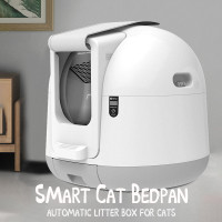 CANGGIH PETJC Automatic Closed Cat Litter Box Large Self Cleaning