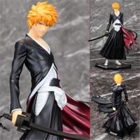 Lanfy Mainan Action Figure Model Anime Bleach Kurosaki Lchigo Bahan