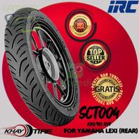 BAN MOTOR D000R1771 BELAKANG YAMAHA LEXI IRC SCT 004 10090 RING 14