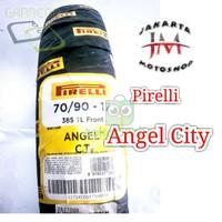 BAN MOTOR D000R1077 TUBLESS PIRELLI ANGEL CITY UK 70 90 RING 17 FOR