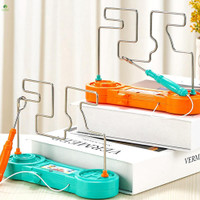 Mainan Puzzle Labirin Bump Elektrik Klasik Untuk Anak / Dewasa