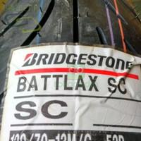 BAN MOTOR D000R983 BRIDGESTONE BATTLAX DEPAN 1207013 SC NMAX