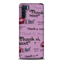 Casing Oppo A91 Thank You Next Ariana Grande L2723