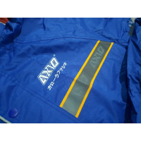 OE009 jas hujan axio stelan baju celana bahan parasut mantel asio