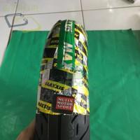 BAN MOTOR D000R255 LUAR MERK MAXXIS UKURAN 100X80X10 VESPA R10