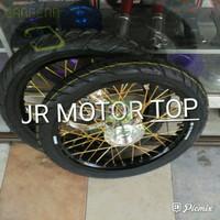 BAN MOTOR D000R1366 VELG TK RACING FULL SET AMA LUAR RX KING JUPITER