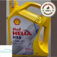 CF265 Oli Shell Helix HX6 SAE 10w-40 Galon 4 Liter 100 ASLI