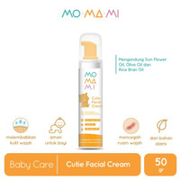 Momami Cutie Facial Cream / Baby Face Cream - 50 gr