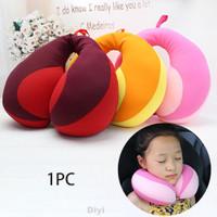Bantal Leher Portable Bentuk U Untuk Bayi Baru Lahir