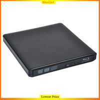 Blesiya1 Cd / Dvd Player Usb 3.0 Blu-Ray Drive Untuk Pc / Laptop
